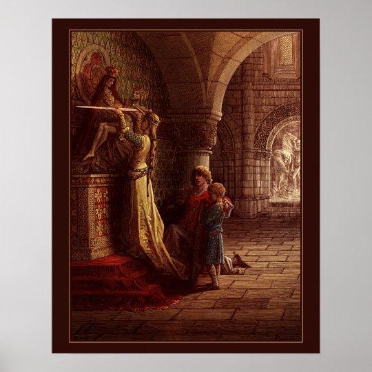 Póster Las Cruzadas de Gustave Dore a color 7