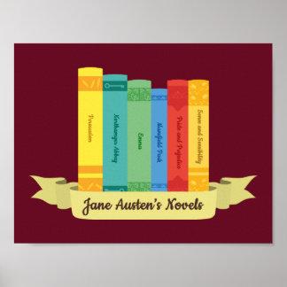 Póster Las novelas de Jane Austen III