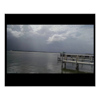 Póster Las tormentas de la Florida pueden venir