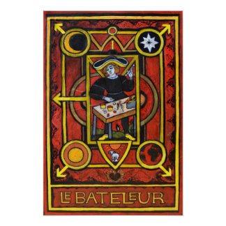 Póster Le Bateleur (el mago)