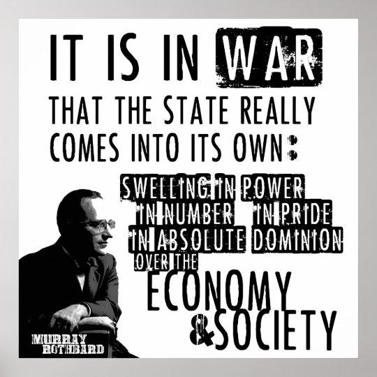 Anarcho-capitalism Arte Foto impresión Poster Regalo Libertaria Murray Rothbard