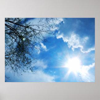 Póster Llover la sol