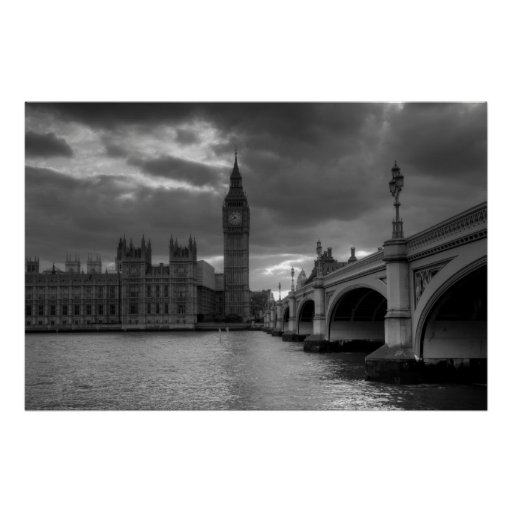 Póster London Landscape