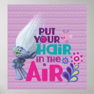 Póster Los duendes el   pusieron su pelo en el aire 2