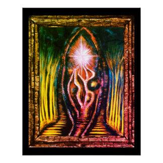 Póster Luz celestial