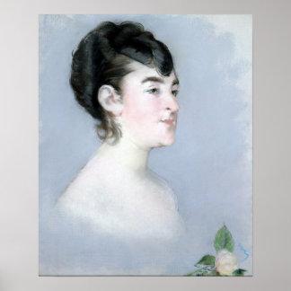 Póster Mademoiselle Isabel Lemonnier de Édouard Manet