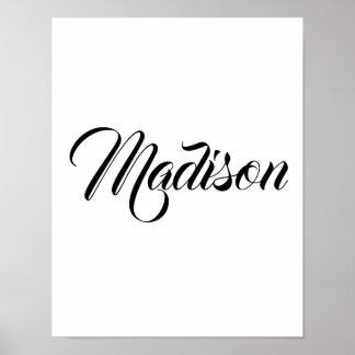 Póster Madison