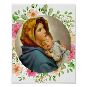 Póster Madonnina Madonna de las calles Ferruzzi Maria