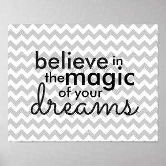 Póster Magia de sueños