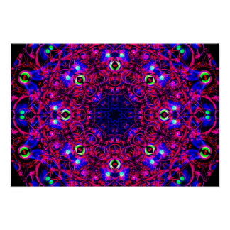 Póster Mandala de Colorful&Detailed
