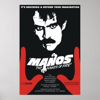 Póster Manos: Las manos del sino