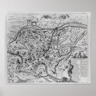 Póster Mapa de Roma antigua