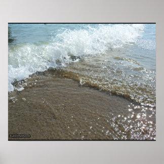 Póster ¡Mar - tiempo de verano!