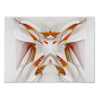 Póster Mariposa ligera