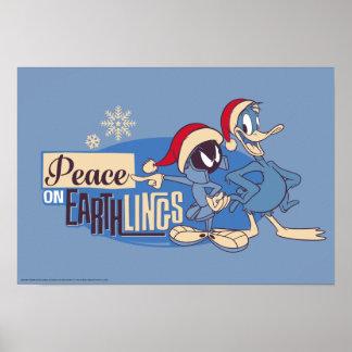Póster MARVIN la paz de MARTIAN™- en Earthlings