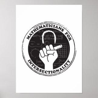 Póster Matemáticos para el poster de Intersectionality