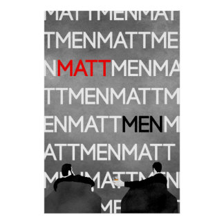 Póster MattMen: ¡El poster!