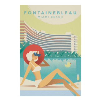 Póster Miami Beach el | Fontainbleau