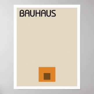 Póster Minimalist del Bauhaus II