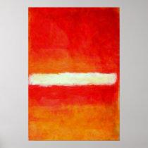 Poster moderno del arte abstracto - estilo de