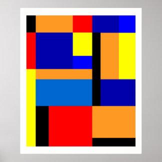 Póster Mondrian #35