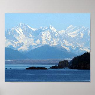 Póster Montañas 552 de Alaska