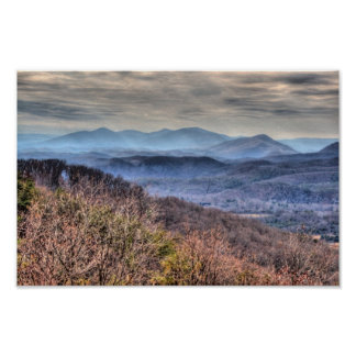 Póster Montañas de Allengheny, Virginia