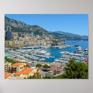 Póster Monte Carlo Mónaco