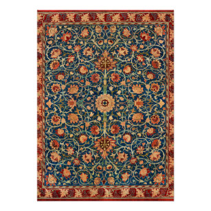 Póster Morris - Holland Park, diseño de alfombras antigu