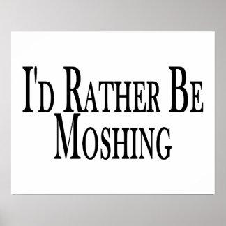 Póster Moshing bastante