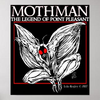 Póster Mothman: La leyenda del punto agradable