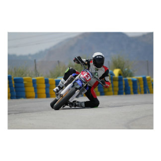 PÓSTER MOTORCYCLE MOTO RACING XTREME MOTORBIKE