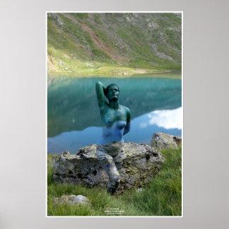 Póster Mountain Lake by Johannes Stötter