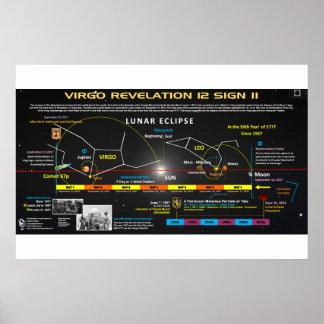 Póster Muestra de la revelación 12 - cometa 67p 2