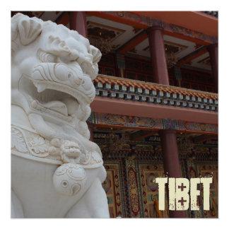 Póster Museo de arte del tibetano de Amdo