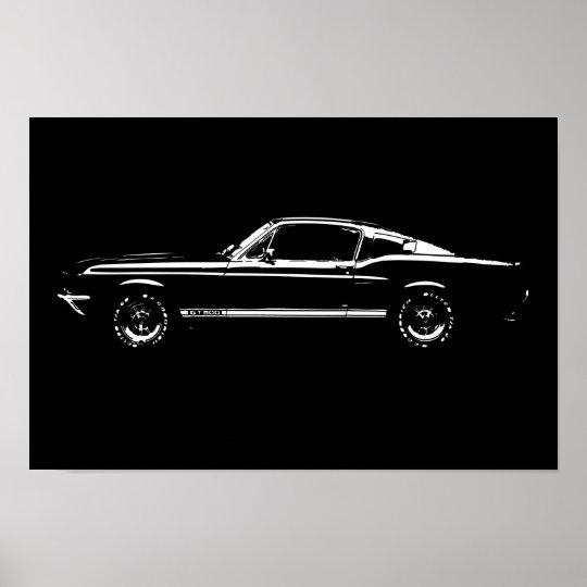 Póster Mustang car
