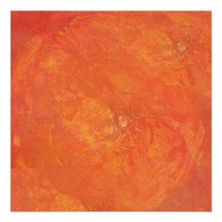 Póster Naranjas frescos