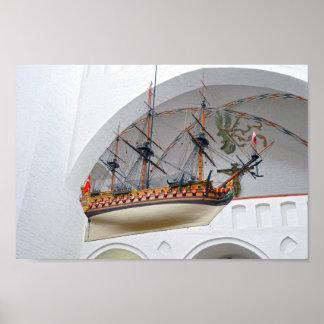 Póster Nave votiva de la catedral de Aarhus