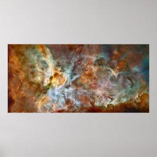 Póster Nebulosa de Carina - NGC 3372