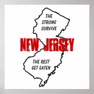 Póster New Jersey: el fuertes sobreviven, el resto consig