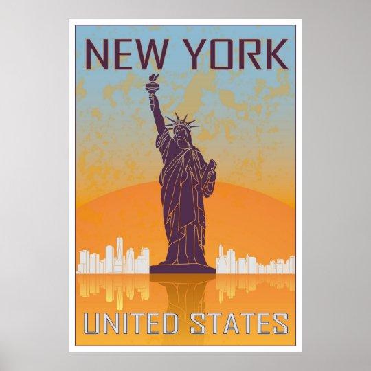 Póster New York vintage poster