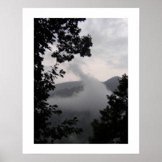Póster Niebla de levantamiento