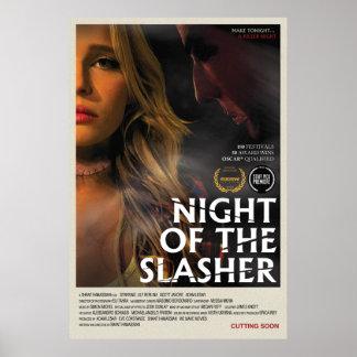 Póster Noche del poster de Slasher (27 x 40)