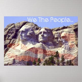 Póster Nosotros la gente…