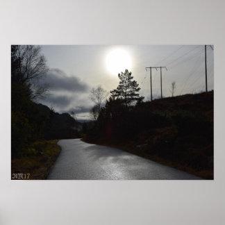 "Póster #November Sun19"" x 13"" papel de poster del valor"