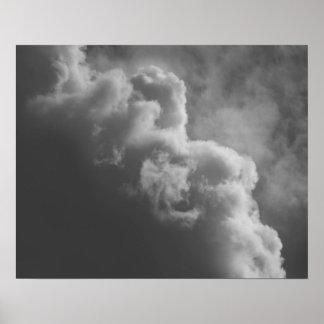 Póster Nubes tempestuosas