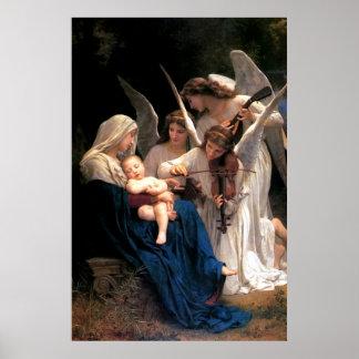 Póster Nuestra canción de la señora Virgen María de