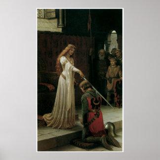 Poster o impresión de la bella arte de Leighton