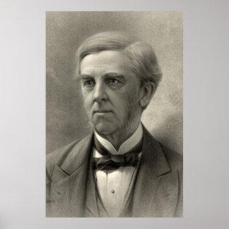 Póster Oliverio Wendell Holmes
