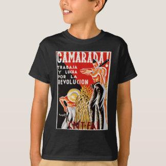 Poster original civil 1936 de la guerra CNT-FAI de Camiseta